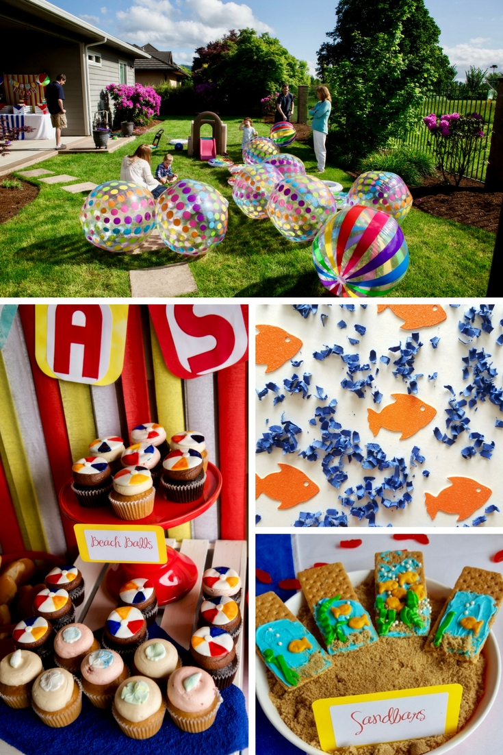Birthday PArties by Green-E Girl Productions | Beach Ball ... on backyard carnival party ideas, backyard deck party ideas, backyard beach house ideas, indoor carnival party ideas, backyard farm party ideas, backyard dinner party ideas, backyard engagement party ideas, backyard party lighting ideas, backyard pirate ideas, backyard beach landscaping, backyard party game ideas, backyard island party ideas, backyard beach decorating, cheap backyard lighting ideas, backyard princess party ideas, backyard soccer ideas, backyard beach parties, backyard bday party ideas, backyard family ideas, backyard thanksgiving ideas,